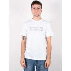 Rip Curl EL MAMA white pánské tričko s krátkým rukávem - XL