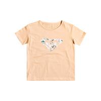 Roxy DAY AND NIGHT PRINT APRICOT ICE dětské tričko s krátkým rukávem - 10/M