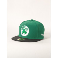 New Era NE5950 NBA BASIC GREEN/BLACK pánská kšiltovka - 7 1/8