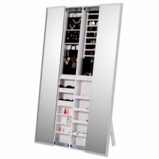 Zrcadlo s úložným prostorem ONEON bílá - TempoKondela
