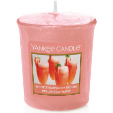 Yankee Candle Votivní svíčka White Strawberry Bellini 49g