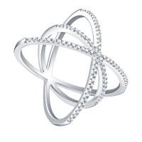 OLIVIE Stříbrný prsten GALAXIE 4241 Velikost prstenů: 6 (EU: 51 - 53)