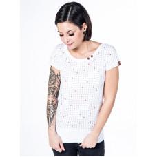 Alife and Kickin COCO cloudy anchor AOP dámské tričko s krátkým rukávem - L
