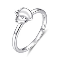 OLIVIE Stříbrný prsten NOŽIČKY 3240 Velikost prstenů: 6 (EU: 51 - 53)