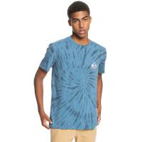 Quiksilver SLOW LIGHT Captains Blue pánské tričko s krátkým rukávem - L