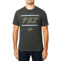 Fox Midway Airline BLACK VINTAGE pánské tričko s krátkým rukávem - S