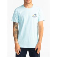 Billabong PALMAS COASTAL pánské tričko s krátkým rukávem - S