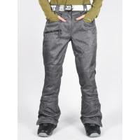 Rehall JENNY Wool Grey zateplené kalhoty dámské - M