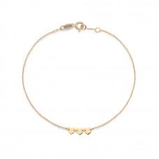 Zlato Zlatý dámský náramek DA15624