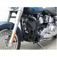 padací rám Fehling Harley Davidson Softail FLST zúžený černý - Fehling Ernest GmbH a Co. 7857DXG4