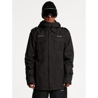 Volcom Creedle2Stone black zimní bunda pánská - M