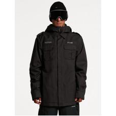 Volcom Creedle2Stone black zimní bunda pánská - XL
