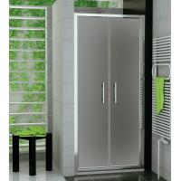SanSwiss TOPP2 0700 50 22 Dvoukřídlé dveře 70 cm, aluchrom/durlux