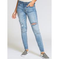 RVCA DAYLEY VINTAGE BLUE značkové dámské džíny - 27