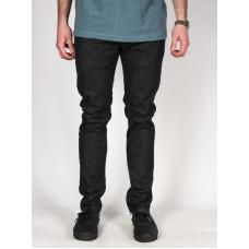 RVCA DAGGERS HERITAGE BLACK značkové pánské džíny - 33