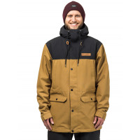 Horsefeathers CORNELL cumin pánské zimní bundy na snowboard - M