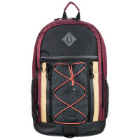 Element CYPRESS OUTWARD VINTAGE RED studentský batoh