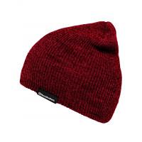 Horsefeathers YARD heather ruby pánská háčkovaná čepice