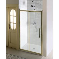 GELCO - ANTIQUE sprchové dveře posuvné,1100mm, ČIRÉ sklo, bronz (GQ4211C)