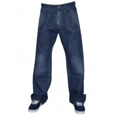 Peace PAINTER WORK BLU značkové pánské džíny - XS