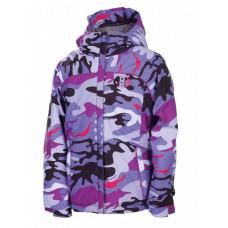 686 Courtney Insulated Violet Camo Reef dětská zimní bunda - M