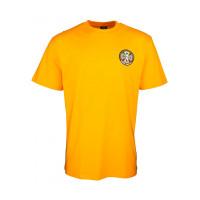 Independent Split Cross GOLD pánské tričko s krátkým rukávem - L