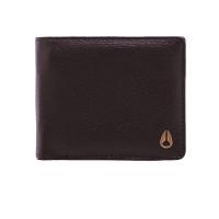 Nixon PASS VEGAN LEATHER C brown luxusní pánská peněženka