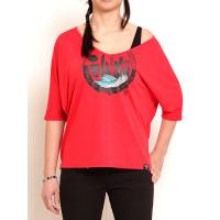 Vehicle BREAKPOINT RED dámské tričko s dlouhým rukávem - S