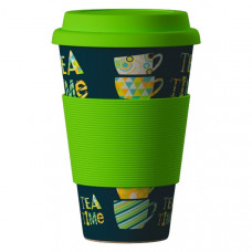 Bamboo Cup Ekologický termohrnek Tea time 0,4l