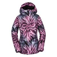 Volcom Bolt Ins PURPLE zimní bunda dámská - M