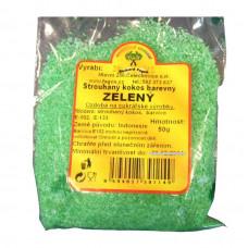 Fagoš Kokos barevný zelený 50g
