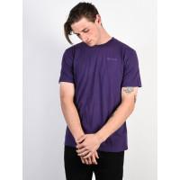RVCA WOMENS DAY DARK PURPLE pánské tričko s krátkým rukávem - L