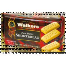 Walkers Fingers klasické skotské máslové sušenky 160g