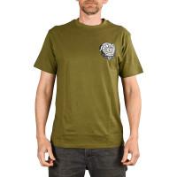 Santa Cruz OBrien Skull ARMY GREEN pánské tričko s krátkým rukávem - XL