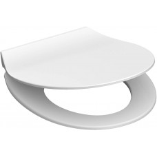 Duroplastové sedátko se zpomalovacím mechanismem SOFT-CLOSE SLIM WHITE 82700