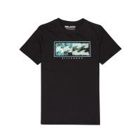 Billabong INVERSED black dětské tričko s krátkým rukávem - 12