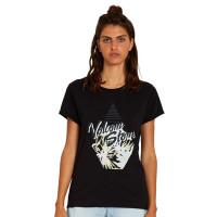 Volcom Radical Daze black dámské tričko s krátkým rukávem - S