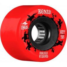 Kolečka BONES ATF Rough Riders Wranglers 56mm red