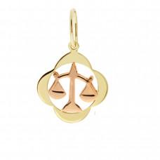 Zlato Zlatý přívěsek znamení zvěrokruhu 3220065 Znamení zvěrokruhu: Váhy
