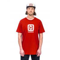 Horsefeathers FAIR RED pánské tričko s krátkým rukávem - XXL