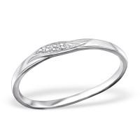 OLIVIE Stříbrný prsten 0667 Velikost prstenů: 7 (EU: 54-56)