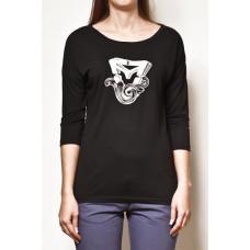 Vehicle MARLEN black dámské tričko s dlouhým rukávem - XS