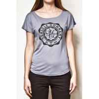 Vehicle CIRCLES blue dámské tričko s krátkým rukávem - M