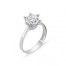 OLIVIE Stříbrný prsten se zirkonem 2073 Velikost prstenů: 9 (EU: 59 - 61)
