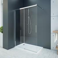 Aquatek WELLNESS K2 100 Sprchový kout s posuvnými dveřmi 97,5-100cm, sklo 6mm