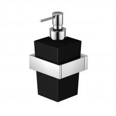 STEINBERG - Dávkovač tekutého mýdla, černé sklo (460 8002)