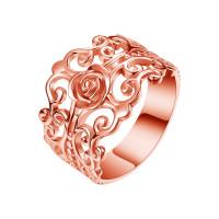 OLIVIE FILIGRÁN stříbrný prsten 4300 Velikost prstenů: 8 (EU: 57 - 58), Barva: Růžová