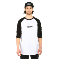 Horsefeathers FLASH black pánské tričko s dlouhým rukávem - XXL