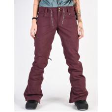 Dc VIVA BIO WASH WINETASTING zateplené kalhoty dámské - XL