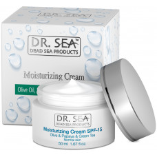 DR. SEA Olive Oil, Papaya & Green Tea Moisturizing Cream SPF 15 50ml
